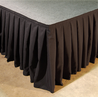 stage skirting in a range of colors and sizes